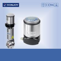 Quality FDA Intelligent valve Positioner C-top , stainless steel butterfly valves for sale