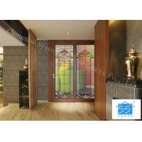 """Wholesale 08""""*36"""" Sliding Glass Doors Theft Proof Brass / Nickel / Patina Available from china suppliers"""