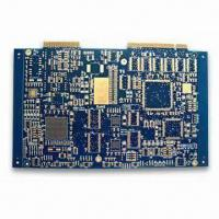 Buy cheap Multilayer PCB with 6L, ENIG Plus Gold Plating Surface Finish, Trace Width Space 4mil/4mil from wholesalers
