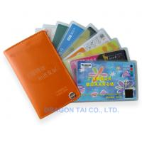 Wholesale Business Card Holder with Unique Design, Credit Cards Cases ,Made of Leather, PVC or PU from china suppliers