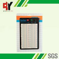 Wholesale Reusable Prototyping Breadboard 4 Distribution Strip Prototype Circuit Boards from china suppliers