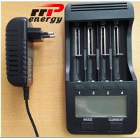 Quality Lithium Ion battery Fast charger LCD Battery Charger NIMH NICAD AA AAA CE for sale
