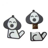 Wholesale Dog shape high speed PVC USB Flash Drive 16GB, 32GB memory (MY-UPVC04) from china suppliers