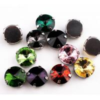 Wholesale 14mm Acrylic Sew-on Rhinestones; Sew-on Stones for Bridal Dress; Sew-On Jewels for Garments from china suppliers