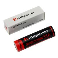 Wholesale Brillipower Black IMR 18650 2500 mAh 3.7V LI-MN Rechargeable Battery , BUTTON Top , 35 MAH from china suppliers