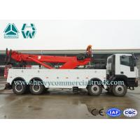 Quality LHD Multi - Way Valve 50 Tons Wrecker Tow Truck To Remove Obstacles for sale