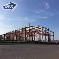 Buy cheap Q235, Q345 Prefabricated Warehouse Hangar Workshop Building Light Steel Structure from wholesalers