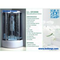 Wholesale LED Therapy Steam Shower Room Cabins Steam Shower Kits With Touch Screen from china suppliers
