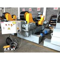Buy cheap Single Power Tank Turning Rolls with Rubber Wheels Self Adjustment Welding Rotataor from wholesalers