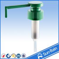 Wholesale Long nozzle green plastic closure 28 lotion pump dispenser from China yuyao from china suppliers