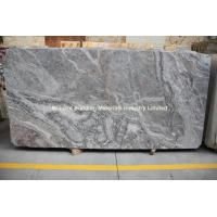 Wholesale China Grey Cream Marble Slab, Gray Marble Slab from china suppliers