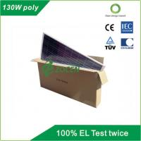 Quality 130 W 18V Poly Solar Panel Safety IEC61250 / IEC61730 Certified for sale
