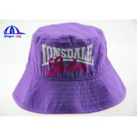 Wholesale Fashion Style Womens Printed Bucket Hats 100% Cotton Woven Printing Logo Bucket Cap from china suppliers