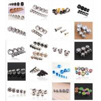 Quality various punk jewelry body piercing ear expansion funmijewelry#foxmail#com 316L stainless steel arclylic ear for sale