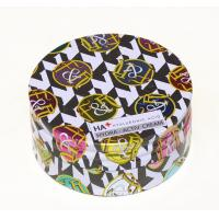 Quality Round Cosmetic Powder Makeup Tin Box Packaging CMYK Printed Round Tin Cans for sale