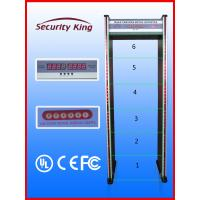 Wholesale Anti - Interference Door Frame Metal Detector for Bank  / Government / Train Station from china suppliers