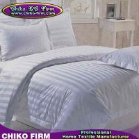 Wholesale Pure Cotton Bed Sheet Fitted Sheet Duvet Cover Pillow Sham 5 Stars Hotel Bedding Sets from china suppliers