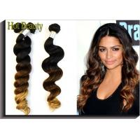 Wholesale Women's  Human Hair Extensions 3 Tone Loose Wave 12 inch - 28 inch from china suppliers