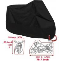 China Oxford Motorcycle Rain Cover Outdoor Waterproof Motorcycle Cover Cruiser Scooter on sale