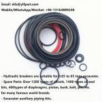 China seal kits for hydraulic breaker atlas SB452 SB302 excavator hammer spare parts SB202 SB552 SB102 SB152 dust gas oil seal for sale