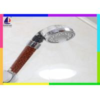 Wholesale Removable Water Filter Shower Head Multi Function With Full Brown Stone Handle from china suppliers