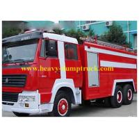 Wholesale Howo water foam fire truck 6X4 20m , Platform fire truck with warranty from china suppliers