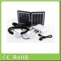 Buy cheap Wholesale factory cheap price Li-ion battery mini system energia solar panel kit from wholesalers