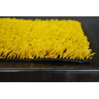 Wholesale Colorful Yellow PE Synthetic Grass Tennis Courts for School, Playground, Sports, Leisure from china suppliers