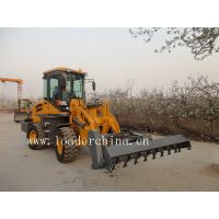 Wholesale loader with hydraulic flail mower from china suppliers
