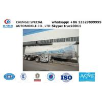 Wholesale ASME SONCAP 56000L LPG gas tank semi trailer,best price CLW Brand 56cubic meters lpg gas propane trailer for sale from china suppliers