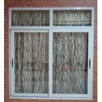 Wholesale Weatherproof white material aluminum sliding windows with good sound insulation from china suppliers