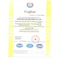 Nanjing Reliable International Trade Co .,Ltd. Certifications