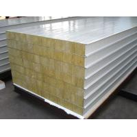 Wholesale Width 1000mm Polyurethane Sandwich Panel , Prepainted Galvanized Roofing Panel from china suppliers