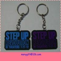 Wholesale china factory made simple plastic hand keychain in pvc from china suppliers