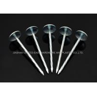 """Quality Twisted Shank 3"""" X BWG 8 Electro Galvanized Roofing Nails For Construction for sale"""