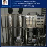 Quality 250L/H Mini ro system drinking water filter plant for sale