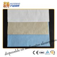 Wholesale Bamboo Wood Pulp Non Woven Fabrics Super Absrbent 40gsm - 90gsm Weight from china suppliers