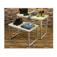 Wholesale Multi - Funcutional Nesting Display Tables Mobile Space Saving For Shopping Mall from china suppliers