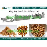 Quality Cat / Bird / Fish Pet Feed Production Line for sale