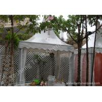 Wholesale Aluminum Framed High Peak Tent Rentals Available with or without Fabric Wall from china suppliers