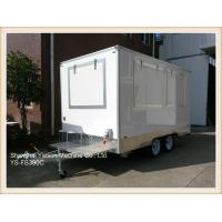 Wholesale 3.9mx2.1m GRP High Quality Food Concession Trailers mobile kitchen from china suppliers