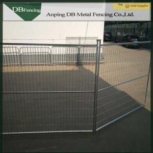 Powder coated portable canada 6x10 temporary fence panel