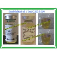 Wholesale Semi Finished Steroid liquid Cypoject 250 Test C 200 / Test Cyp For Bodybuilding from china suppliers
