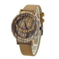 Wholesale Custom Wooden Watch With Leather Band from china suppliers