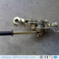 Wholesale ratchet cable puller hand puller wire rope puller wire rope ratchet puller wire grip from china suppliers