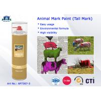 Wholesale Fast Drying Waterproof Spray Animal Mark Paint for Pig / Sheep / Horse Tail Purple Red Green from china suppliers