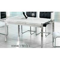 Wholesale mdoern dining set, dining table, glass table, fashion dining chairs, #6008 from china suppliers