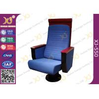 Wholesale Custom Wood High Back Church Hall Chairs Soft Padded For Pastor / Minister from china suppliers