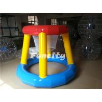 Wholesale Funny Airtight Floating Inflatable Water Basketball Game for Amusement Park from china suppliers