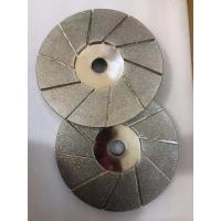 Wholesale Flat Shaped Diamond Sharpening Wheel / Diamond Grinding Disc Standard Viscosity from china suppliers